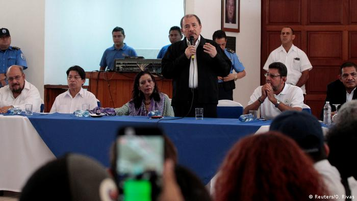 Nicaragua nationaler Dialog Ortega (Reuters/O. Rivas)
