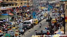 Nigeria Lagos Stadtansicht