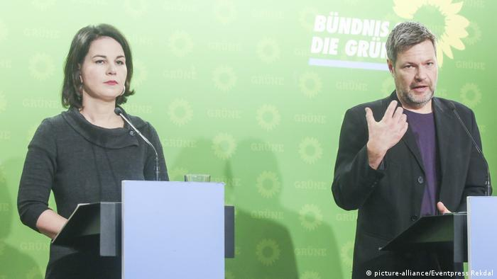 Robert Habeck and Annalena Baerbock (picture-alliance/Eventpress Rekdal)