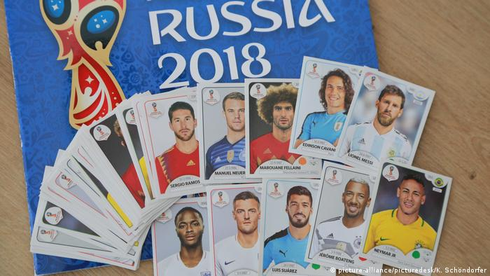World Cup 2018 Panini stickers