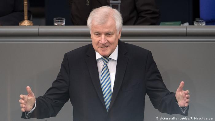 Deutschland Bundestag Horst Seehofer (picture-alliance/dpa/R. Hirschberger)