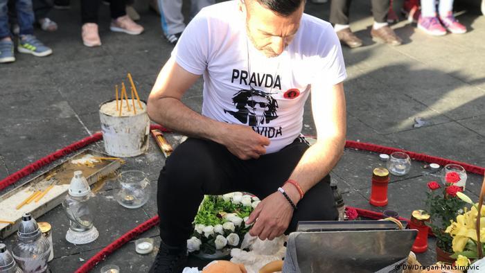 Mirni protesti Pravda za davida u Banja Luci
