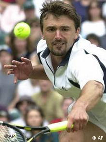 Goran Ivanišević u Wimbledonu