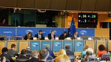 Abstimmung im Ausschuss für Internationaler Handel des Europäischen Parlamentes