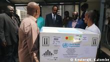 Kongo Ebola Impfstoff in Kinshasa