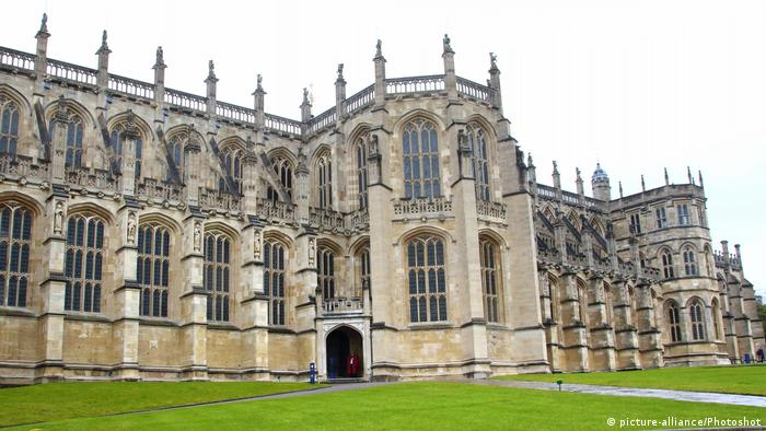 St Georges Chapel at Windsor Castle (picture-alliance/Photoshot)