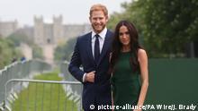 Vor der Royal-Hochzeit - Madame Tussauds Wachsfiguren