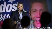 Vor Wahl in Venezuela - Henri Falcon