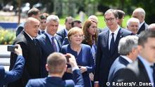 Bulgarien EU-Balkan-Gipfel in Sofia | Merkel & Thaci & Vucic