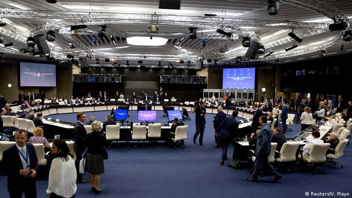 Bulgarien EU-Balkan-Gipfel in Sofia | Konferenzraum (Reuters/V. Mayo)
