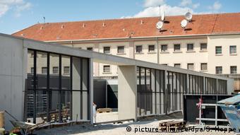 У цій мюнхенській в'язниці більше місяця провів Дмитро Крючков