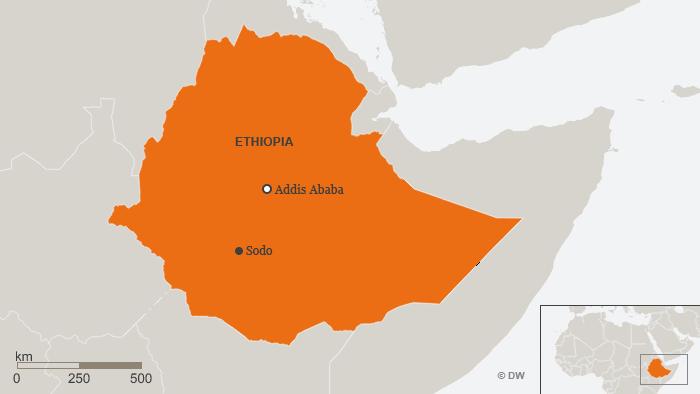 Karte Sodo Ethiopia ENG