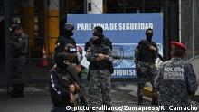 Venezuela Aufstände im Helicoide Gefängnis in Caracas