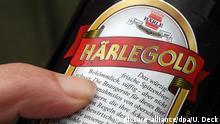 Deutschland Bundesgerichtshof Prozess Bierwerbung