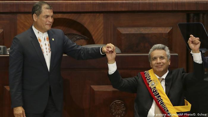 Rafael Correa & Lenin Moreno