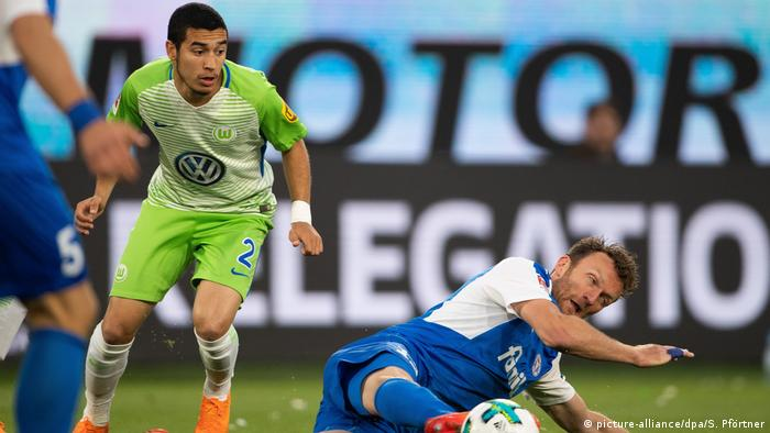 Relegation 2018 | VfL Wolfsburg vs. Holstein Kiel (picture-alliance/dpa/S. Pförtner)
