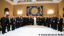Vatikan Papst Franziskus & Bischöfe aus Chile