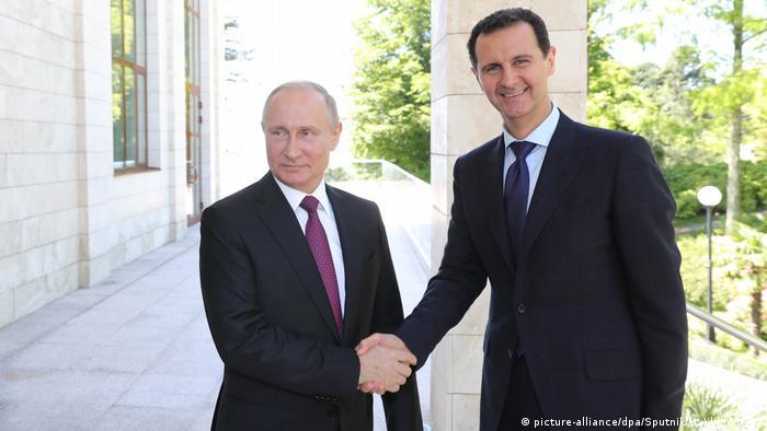 Vladimir Putin & Bashar al-Assad in Sochi