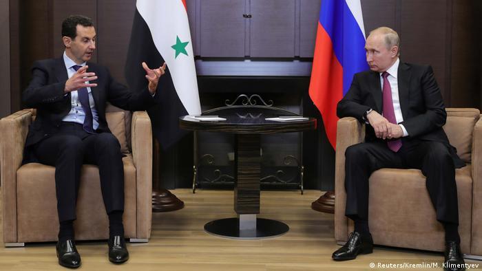 Russland Sotchi Assad bei Putin (Reuters/Kremlin/M. Klimentyev)