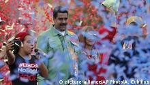 Venezuela Wahlkampf Maduro Cilia Flores