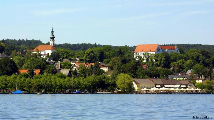 Starnberg seen from the lake