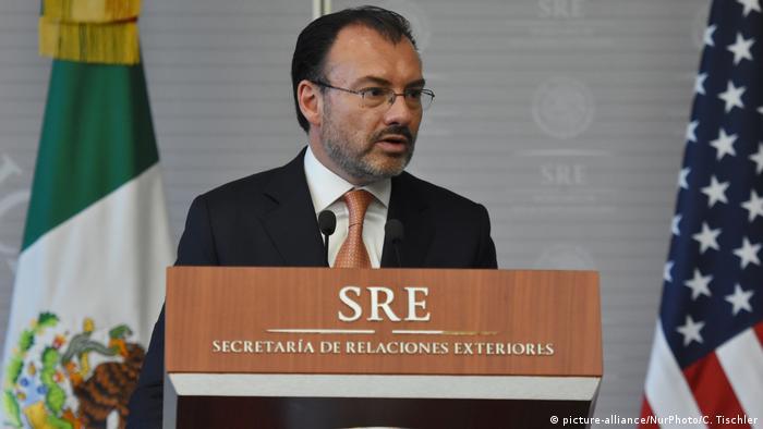 Mexiko Besuch US Secretary of Homeland Security Kirstjen Nielsen