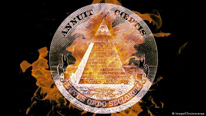 Symbolbild Illuminati Verschwörungstheorien