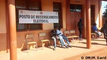 Wahlregistrierung in der Provinz Niassa, Mosambik