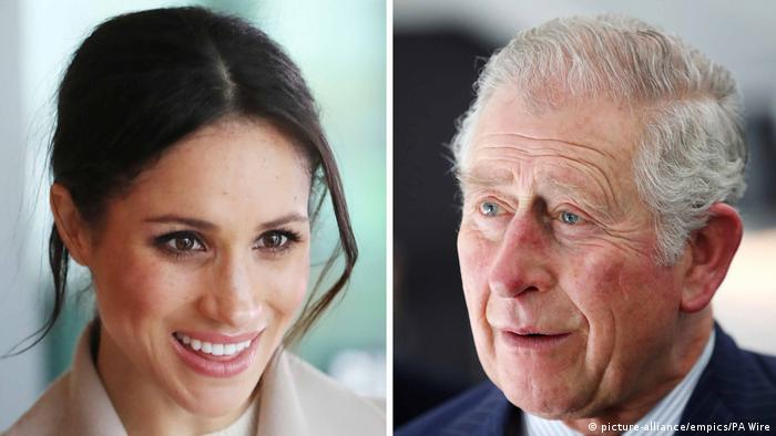Prinz Charles und Meghan Markle (picture-alliance/empics/PA Wire)
