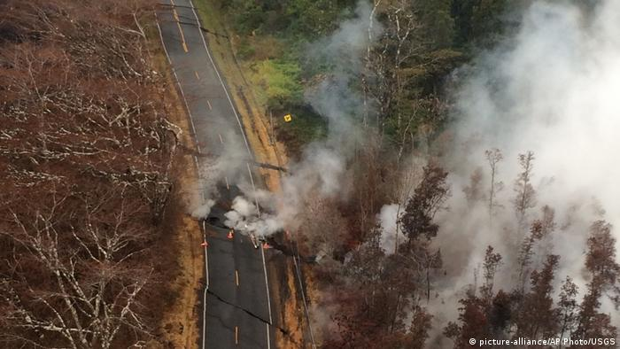 Hawaii Kilauea Vulkanausbruch (picture-alliance/AP Photo/USGS)