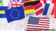 Symbolfoto Verhältnis USA EU (picture-alliance/K. Ohlenschläger)