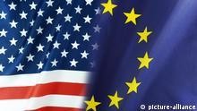 Symbolfoto Verhältnis USA EU