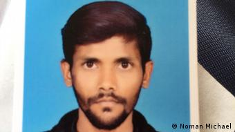 Smith Michael, a Christian youth in Karachi, was arrested by police (Noman Michael)