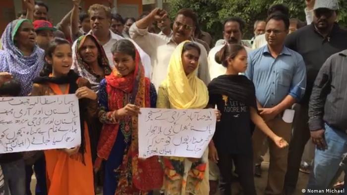 Pakistan Christen-Verfolgung (Noman Michael)