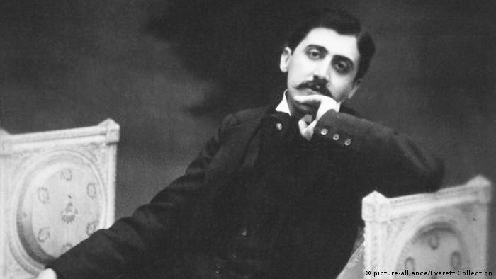 Marcel Proust, französischer Schriftsteller um 1900