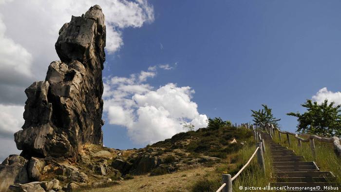 Чертова стена (Teufelsmauer) в Гарце