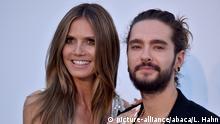 Frankreich Cap D'Antibes - Heidi Klum und Tom Kaulitz