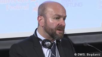 Neil Datta von der Europäischen Parlamentarischen Gruppe zu Bevölkerungs- und Entwicklungspolitik