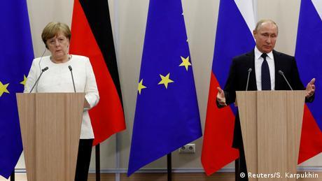 Зустріч Меркель у Путіна в Сочі: з квітами, але без конкретних результатів