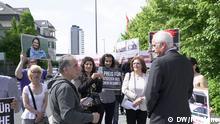 Bonn Protest gegen Preisverleihung der Deutschen Welle