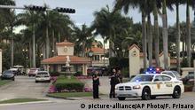USA Florida - Polizei reagiert auf Schüsse an Trumps National Doral Resort
