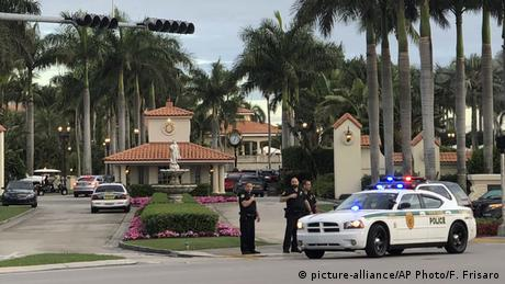 USA Florida - Polizei reagiert auf Schüsse an Trumps National Doral Resort (picture-alliance/AP Photo/F. Frisaro)