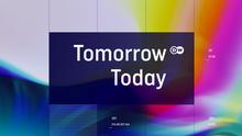 DW Projekt Zukunft Sendungslogo Englisch (Tomorrow Today)