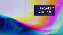 DW Projekt Zukunft Hintergrundbild und Sendungslogo Smart TV