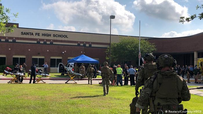 USA Texas - Schüsse auf dem Kampus der Santa Fe Schule (Reuters/Courtesy HSCO)
