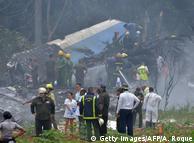 На місці авіакатастрофи на Кубі