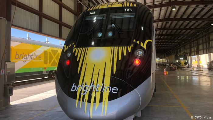 Florida's Brightline high-speed train (DW/D. Hicks)