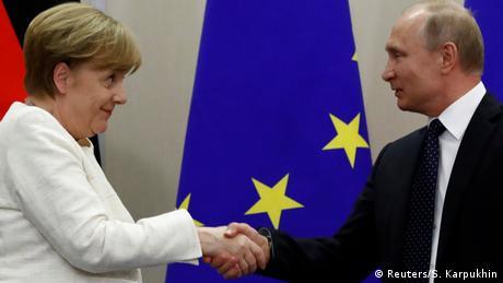 Διεθνή και ενεργειακά θέματα στην ατζέντα Μέρκελ-Πούτιν