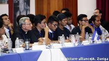 Nicaragua, Managua: Tag zwei des nationalen Dialogs