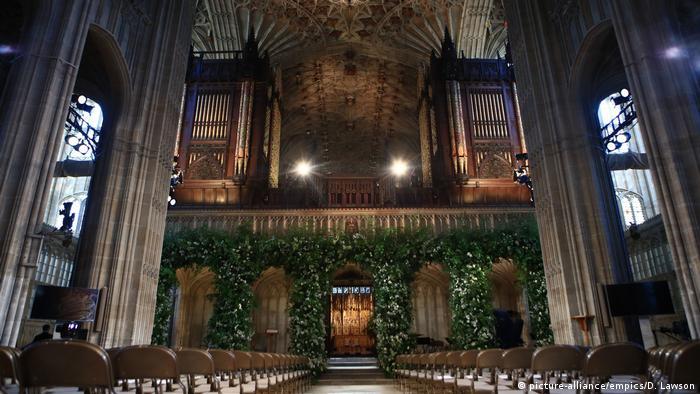 Королівське весілля. Церква Святого Георга